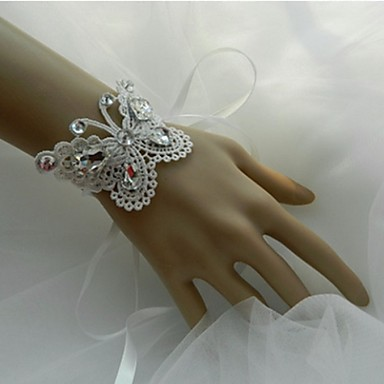 Hochzeitsblumen Armbandblume Hochzeit Party / Abend Spitze 0.39
