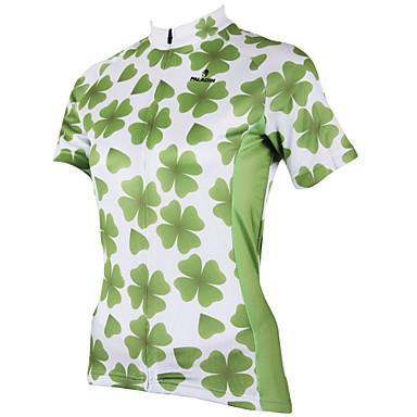 ILPALADINO Keréspáros dzsörzé Női Rövid ujjú Bike Dzsörzé Felsők Kerékpáros ruházat Gyors szárítás Ultraibolya biztos Légáteresztő