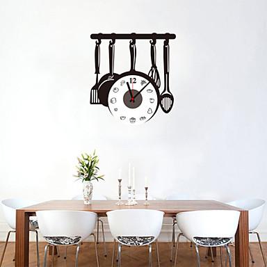 Modern / Contemporary Wood / Plastic Indoor / Outdoor,AA Wall Clock