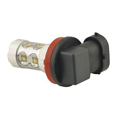 carking ™ H8 / H11 50W 10smd 2800ml 6000K fehér fény led ködlámpa fejlámpa vezetési izzó (DC 12V)