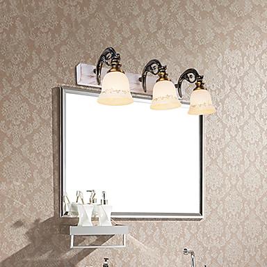 Lampade a candela da parete illuminazione bagno moderno - Lampade da bagno ...