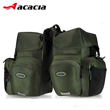 Acacia 자전거 가방 >60L 자전거 트렁크 백/자전거 짐바구니 수분 방지 방수 비 방지 먼지 방지 착용 가능한 다기능 싸이클 가방 600D 립스틱 싸이클 백 사이클링 / 자전거 여행