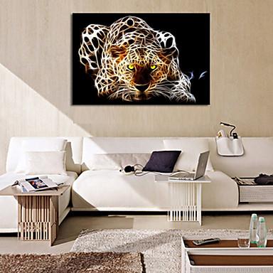 Αφηρημένο Ζώο Μονόπτυχα Horizontal Εμπριμέ Wall Decor For Αρχική Διακόσμηση