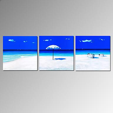 asmak için görsel star®modern grup deniz manzarası plaj tuval yağlıboya hazır