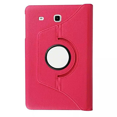 Case Kompatibilitás Samsung Galaxy Tab S2 9.7 Tab S2 8.0 Samsung Galaxy tok Állvánnyal Flip 360° forgás Héjtok Tömör szín PU bőr mert Tab
