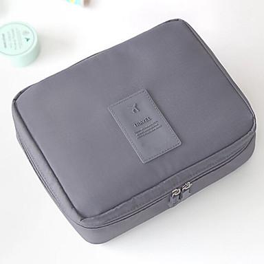 Damen Taschen Nylon Kosmetik Tasche für Normal Orange Grau Marinenblau Blau Wein