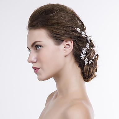Alloy Head Chain Headpiece Wedding Party Elegant Feminine Style