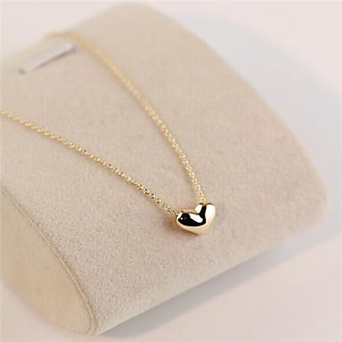 Damen Herz Statement Ketten  -  Liebe Modische Halsketten Für