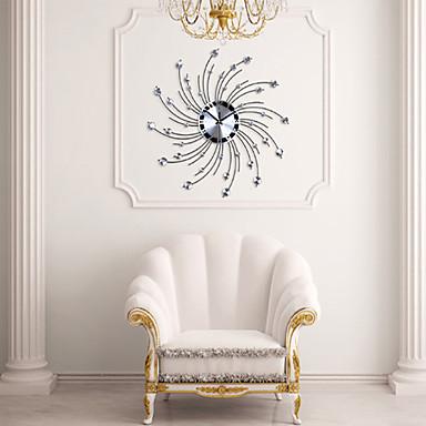 Modern kişilik demir elmas tasarım duvar saati