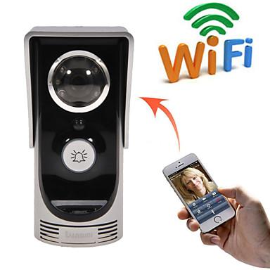 új wifi video kaputelefon mozgásérzékelés csengő esőálló kamera csatlakozni mobil