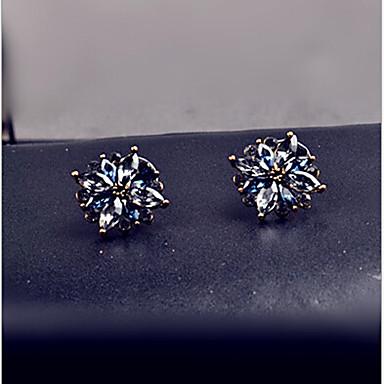 Κουμπωτά Σκουλαρίκια Κρυστάλλινο Στρας Κράμα Μοντέρνα κοσμήματα πολυτελείας Χρώμα Οθόνης Κοσμήματα 2pcs