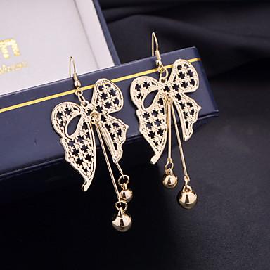 Damla Küpeler alaşım Gümüş Altın Mücevher Için Düğün Parti Günlük 2pcs