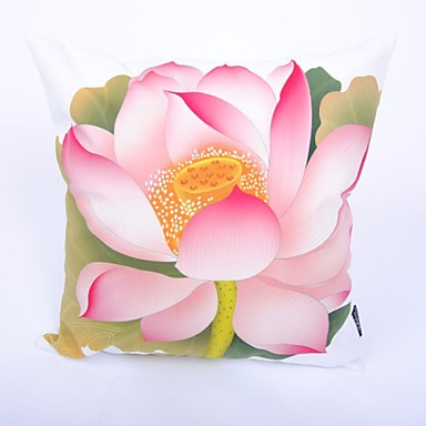 szt Bawełna Poszewka na poduszkę, Kwiaty Modern / Contemporary