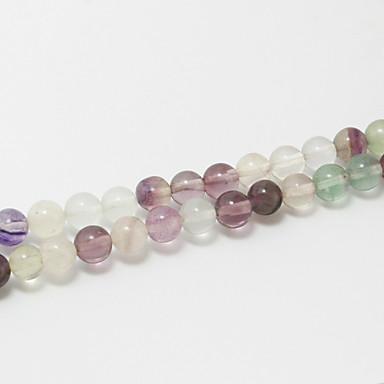 Ювелирные изделия DIY 39cm/str Полудрагоценные камни Round Shape Шарик DIY Ожерелье Браслеты