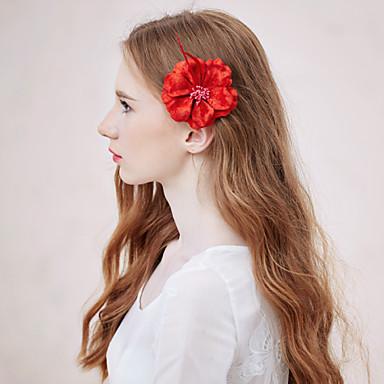 Женский Сплав металлов / Ткань Заставка-Свадьба / На каждый день / на открытом воздухе Цветы 1 шт.