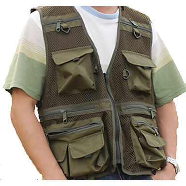 ESDY Men's Versatile Photography Vest Fishing Clothing