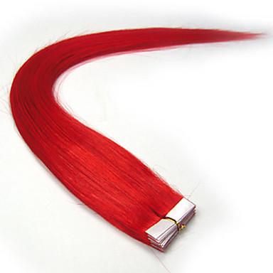 16inch-24inch szalagot az emberi haj kiterjesztések sok szín közül választhat szépség 20db darab