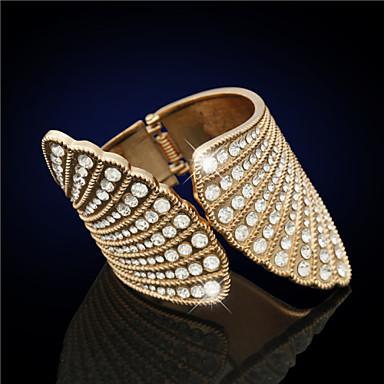 K24 Women Bracelet , Vintage/Cute/Party/Casual Platinum Plated/Rhinestone