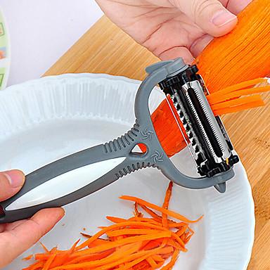 многофункциональный 360-градусный ротационный очиститель картофеля овощной резак фруктово-барабанчатый терьер с 3 лезвиями