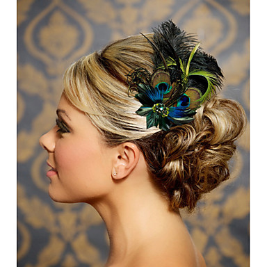 Feather Hair Accessories Feather Wigs Accessories Women's pcs 6-10cm cm