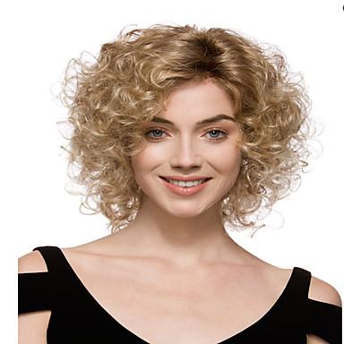 Искусственные волосы парики Кудрявый Без шапочки-основы Карнавальный парик Парик для Хэллоуина Блондинка
