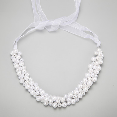 Imitation Pearl Alloy Headbands 1 Wedding Special Occasion Headpiece
