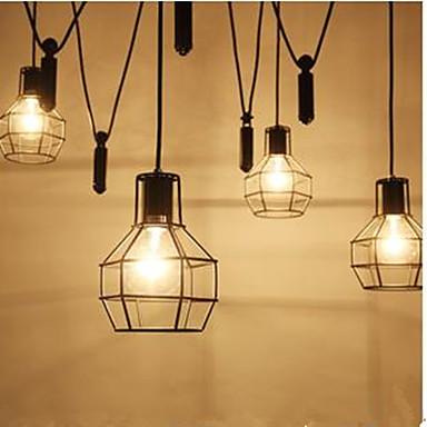 러스틱/ 롯지 - 샹들리에 - LED - 거실/주방/학습 방 / 사무실