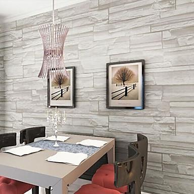 Art Deco Hjem Dekor Moderne Tapetsering, Pvc / Vinyl Materiale selvklebende nødvendig bakgrunns, Tapet