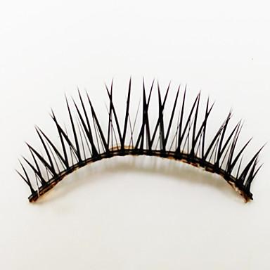 1 Pairs Black Fiber False Eyelashes