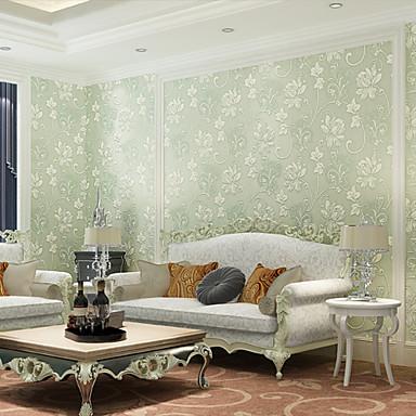 Современный арт-деко обои 3d большой цветок обои облицовке стен нетканый материал стены искусства