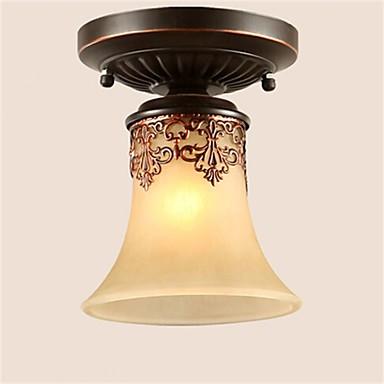Flush Mount Uplight - LED, 110-120V / 220-240V, Warm White / Cold White / Yellow, Bulb Not Included / 5-10㎡ / E26 / E27