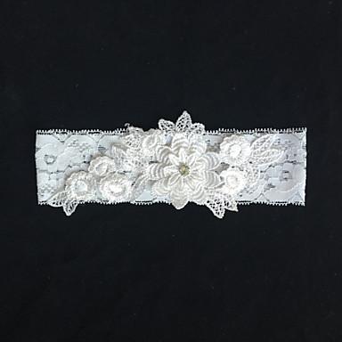 Spitze Modisch Hochzeitsstrumpfband  -  Blume Strumpfbänder