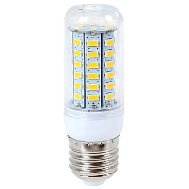1200 lm E14 G9 E26/E27 LED-kornpærer T 56 leds SMD 5730 Varm hvit Kjølig hvit AC 110-130V AC 220-240V
