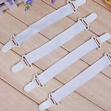 yenilik yaratıcı plastik / lastik bant pratik sac tutucu (4 adet / kart)
