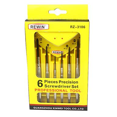 rewin® työkalu 6kpl horologe asettaa ruuvimeisseleitä asetettu käsityökalu asetettu