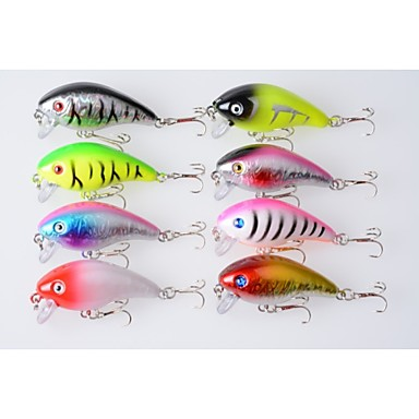 8pcs Hengjia Crank Baits 9.8g  60mm Fishing lures