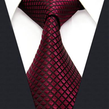 Férfi Műselyem Munkahelyi Nyakkendő