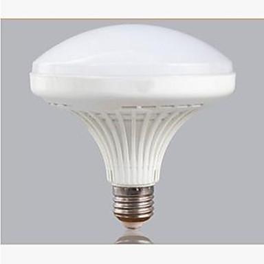 e26 / e27 levou globo lâmpadas a60 (a19) 60 smd 5730 2700lm frio branco 6000k decorativo ac 220-240v