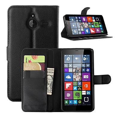 Hülle Für Nokia Lumia 540 Nokia Lumia 640 Nokia Nokia Lumia 730 Nokia Hülle Kreditkartenfächer Geldbeutel mit Halterung Ganzkörper-Gehäuse