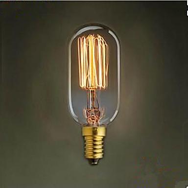 T45 прямой провод E14 220 винтиком ретро свет 40 Вт