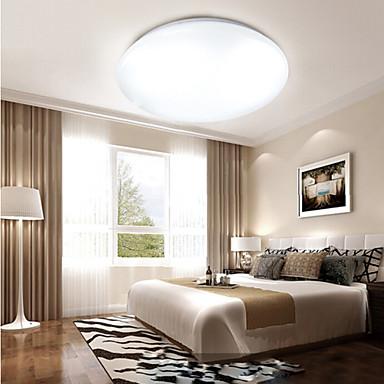 Modern / Zeitgenössisch Unterputz Deckenfluter - LED Gelb / Weiß, Inklusive Glühbirne