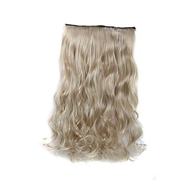 Συνθετικά μαλλιά Hair Extension Σγουρά Κλασσικά Κουμπωτό Καθημερινά Υψηλή ποιότητα