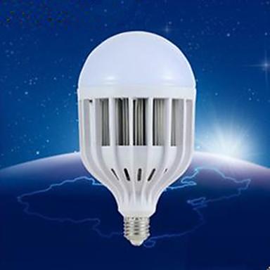 180lm E26 / E27 LED Kugelbirnen A60(A19) 48 LED-Perlen SMD 5730 Dekorativ Warmes Weiß / Natürliches Weiß 220-240V
