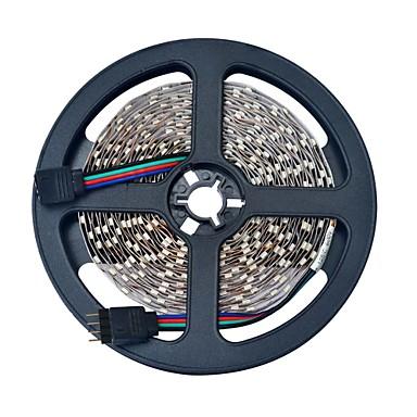 10 m Lysslynger 600 LED 3528 SMD RGB Fjernkontroll / Kuttbar / Koblingsbar 12 V / IP68 / Passer for kjøretøy / Selvklebende / Fargeskiftende