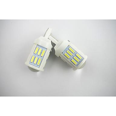 2pcs T20(7440,7443) Car Light Bulbs 28 W SMD LED 1200 lm 27 Headlamp