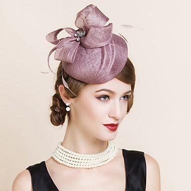 Γυναικείο Λινάρι Headpiece-Γάμος Ειδική Περίσταση Καπέλα 1 Τεμάχιο