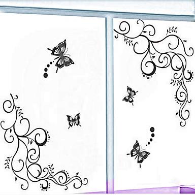 nouvelle fleur de style de Stickers muraux stickers muraux de pvc vigne autocollants