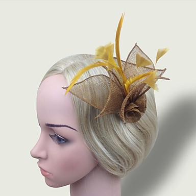siateczkowe fasolki z piórkiem elegancki klasyczny, kobiecy styl