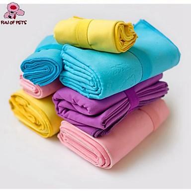 Chien Serviette Serviette Portable Cosplay Violet Jaune Bleu Rose