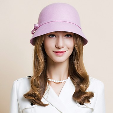 Wool Hats 1 Wedding Special Occasion Casual Office & Career Outdoor Headpiece